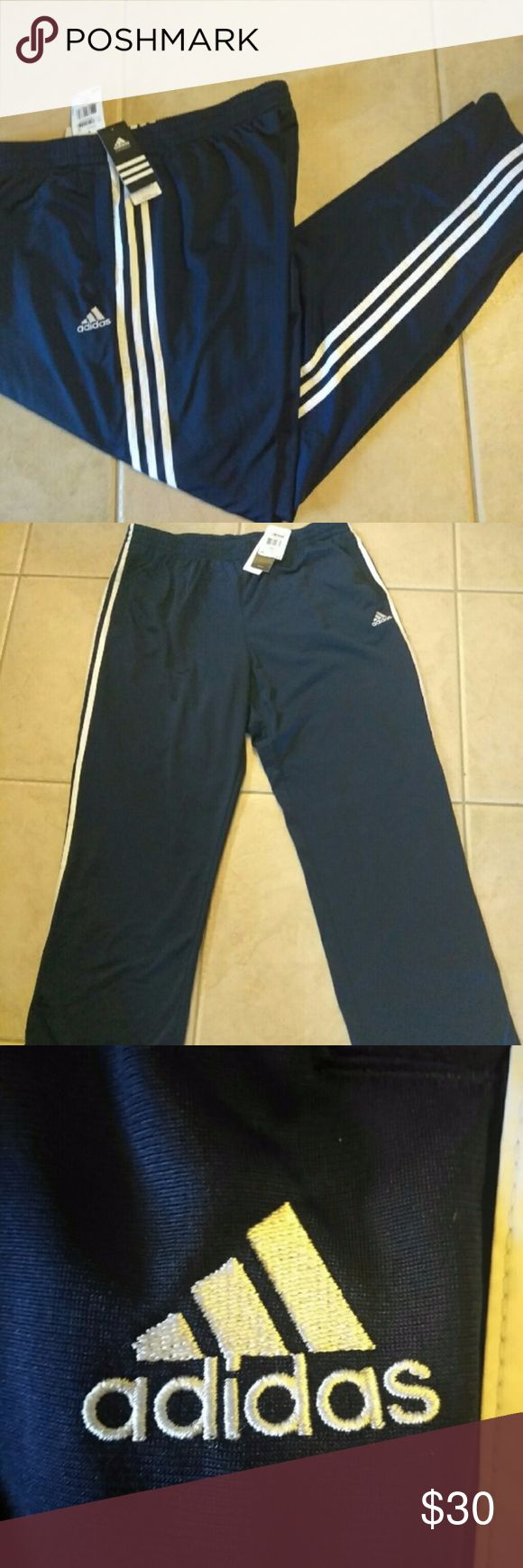 Adidas men Joggers pants New with tags men 2 xlarge joggers pants. Have two pockets in each side. adidas Pants Sweatpants & Joggers