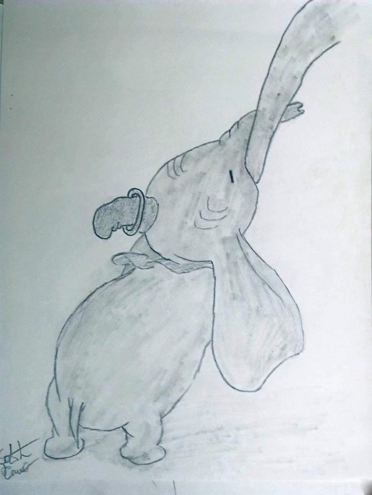 dumbo pencil. created by seth daniel