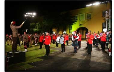 Cape Town Military Tattoo in October, Cape Town, South Africa