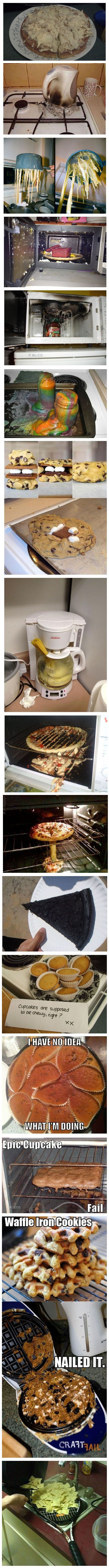 People who cook worse than you... hahaha this made me feel SO much better about burning water. XD