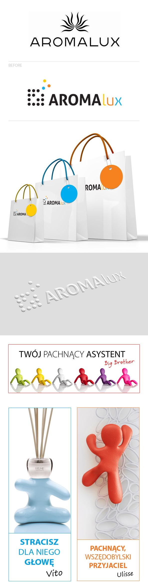 Aromalux by Ola Grzeganek, via Behance