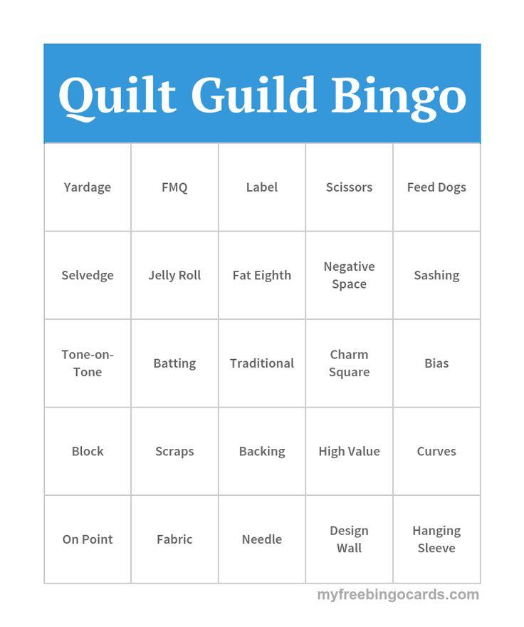 1000+ images about Quilt Guild Ideas on Pinterest Bingo, Quilt and Wombat