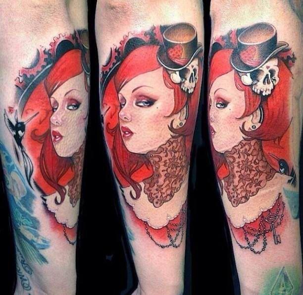 best 25 tattoo arm frau ideas on pinterest frau arm tattoos maori tattoo frau and arm. Black Bedroom Furniture Sets. Home Design Ideas