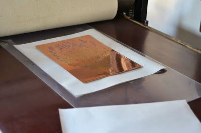History of #lavender 3 #AdamPoltorak #copperplate