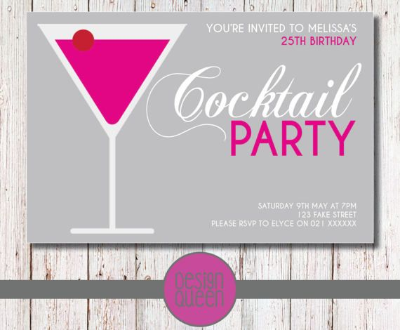 Check out this item in my Etsy shop https://www.etsy.com/nz/listing/288347955/cocktail-party-birthday-invitation-you