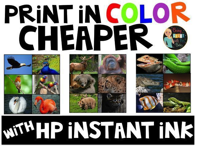 Have Your Heard Of HP Instant Ink Do You Print From Home Love Printing In COLOR I And Was Totally Spending A Fortune On