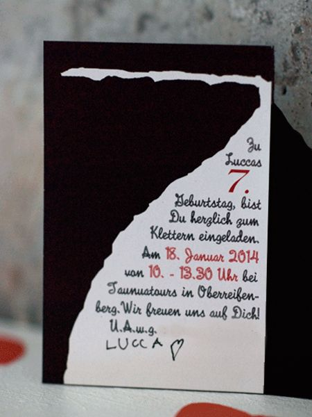 Schön Wunderschön Gemacht: Kindergeburtstag: Kletterparty Mit Herz