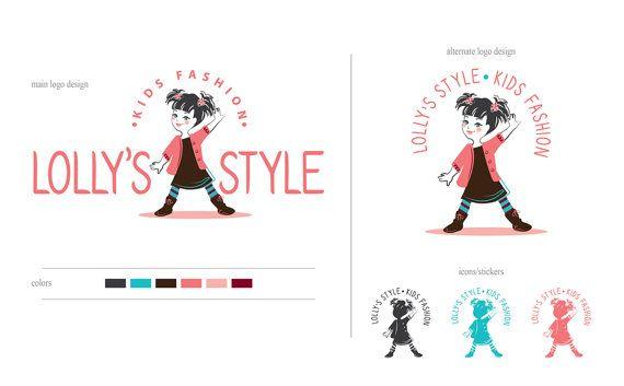 Kids fashion logo  Fun children logo  Kids logo  by lovedesigning #logo #logodesign #graphicdesign #graphic #design #logodesigner #illustration