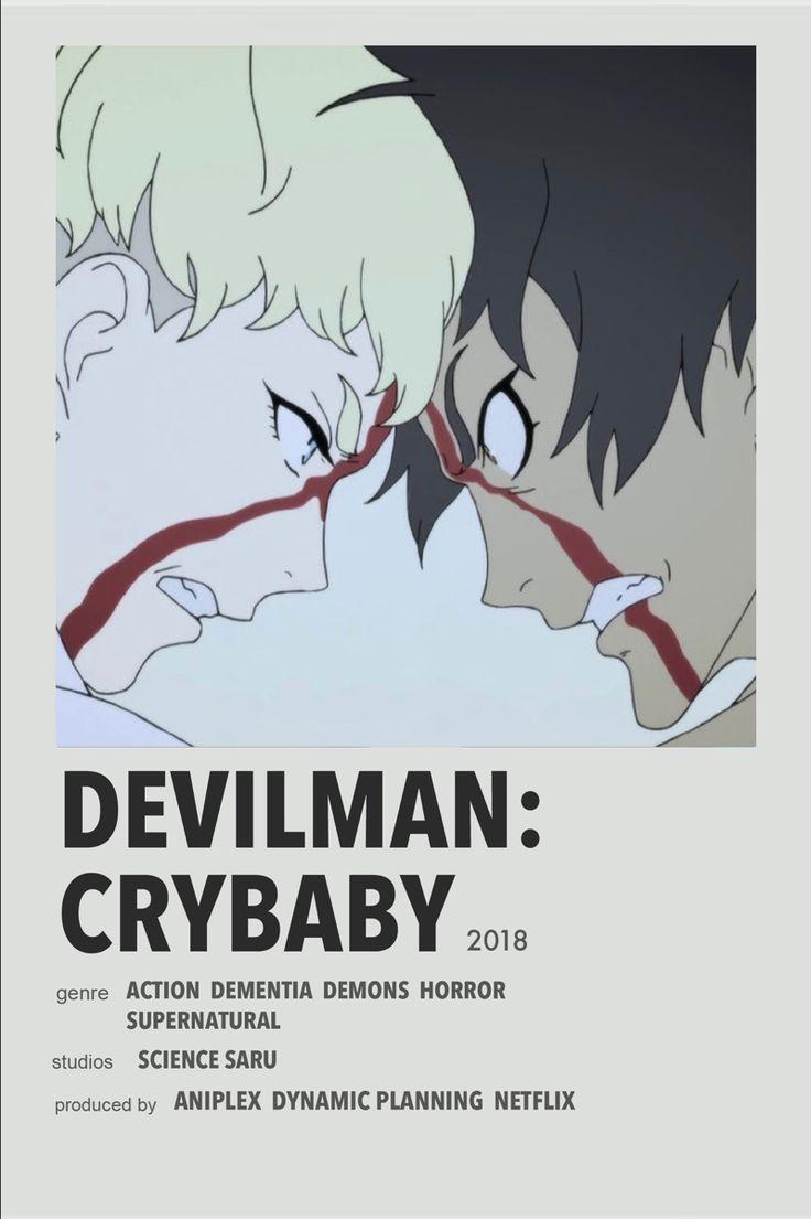 Devilman crybaby anime canvas anime films devilman crybaby