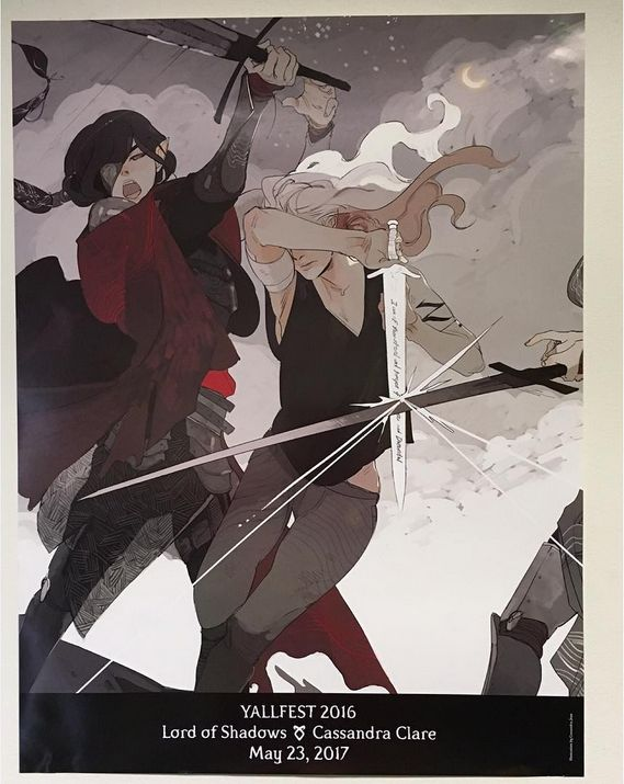 Exclusive free #LORDOFSHADOWS poster of a scene from Lord of Shadows by Cassandra Jean (via Cassie's Instagram) | #TDA #shadowhunters | Emma Carstairs | May 23, 2017