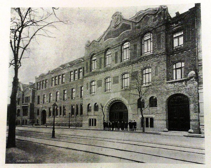 1910 körül. Szent István Gimnázium.