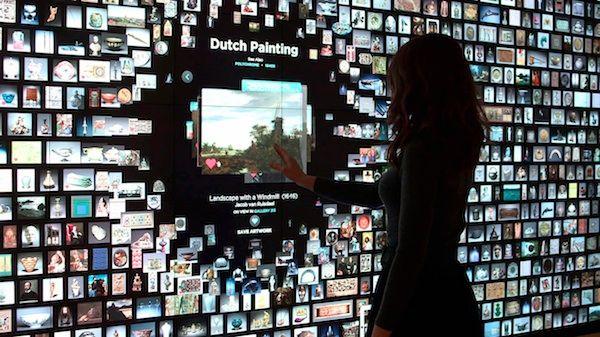 Museum design gets interactive.