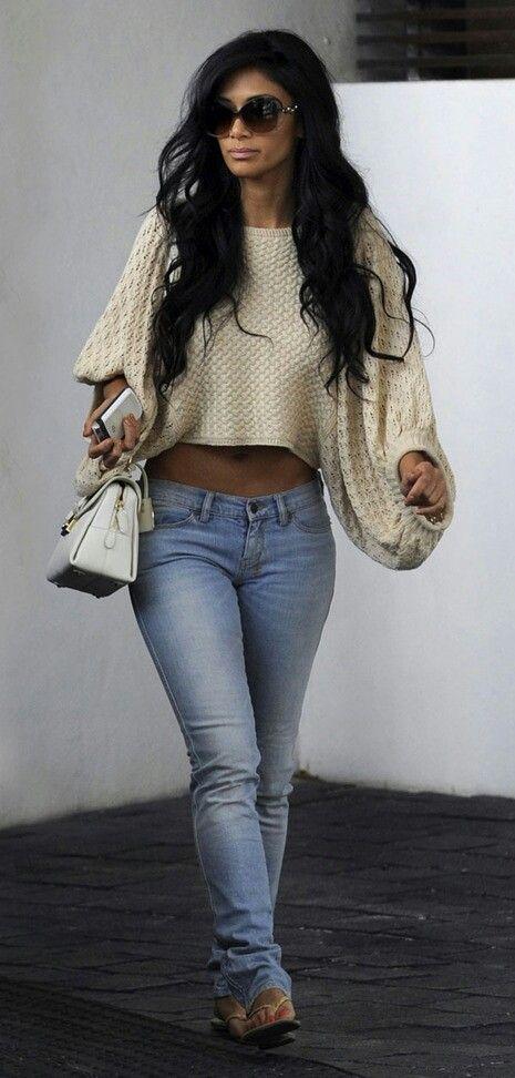 Denim|Nicole Scherzinger style