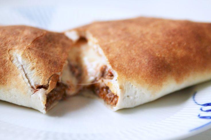 Inbakad pizza - Jennys Matblogg