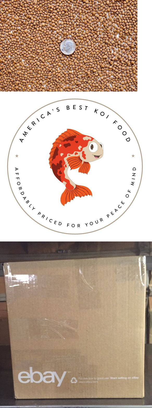 Food 20759: 25 Lbs Bulk Koi Fish Food 36% Premium Protein Small Float/Sink Pellets BUY IT NOW ONLY: $47.95