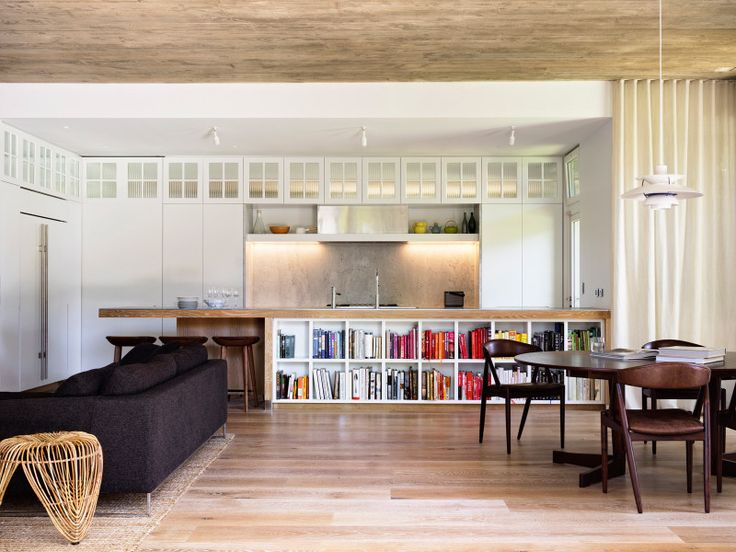 Loggia in Arcadia by Luigi Rosselli Architects | zinc kitchen benchtop | © Justin Alexander
