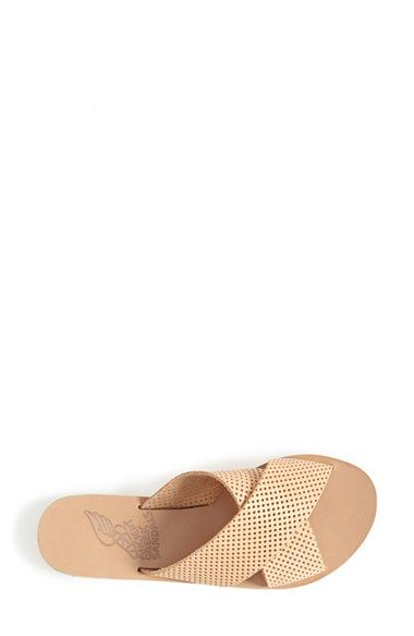 Ancient Greek Sandals 'Thais' Perforated Leather Sandal (Women) | Nordstrom