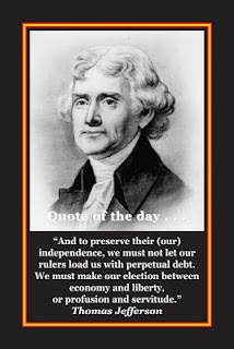 Thomas Jefferson Quote - And to preserve their independence...