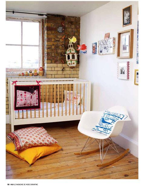 ...and ever decide to pop a little beebster out, this is what the nursery will look like.