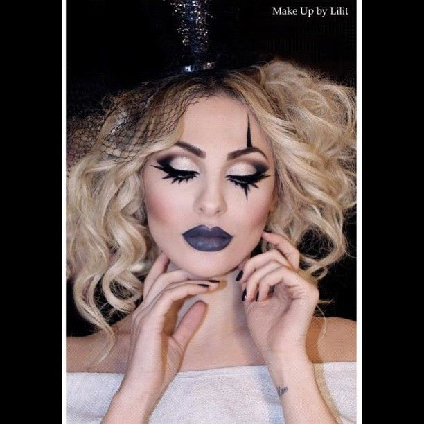 #makeupbylilit #hair by @Lara Kay #model @kivetat #circus #photoshoot #ringleader #makeupartist #glitter #makeup #beauty #glamour #lashes #falsies #cosmetics  - @Lilit Caradanian- #webstagram