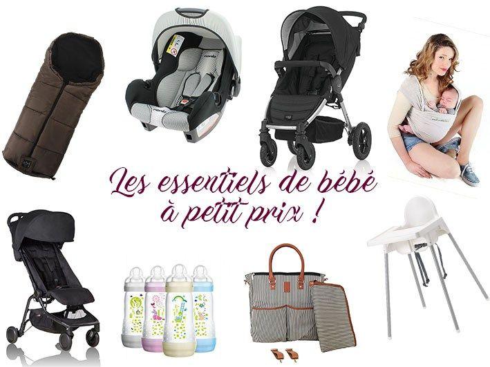 Ici un article sur les produits,les essentiels de bébé, la puériculture essentielles aux premiers mois de bébé. Le minimum à petit prix pour ses 1ers mois.