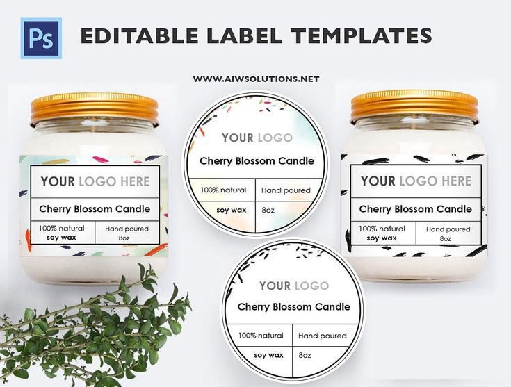 Product Label - id13 by AIW SOLUTIONS on @creativemarket