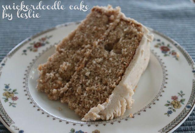 Wunderbar gemacht: Snickerdoodle Cake