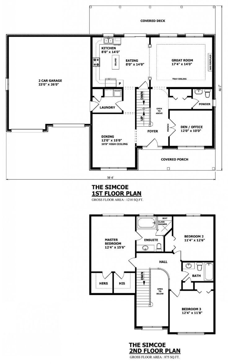 CANADIAN HOME DESIGNS   Custom House Plans, Stock House Plans U0026 Garage Plans Part 92