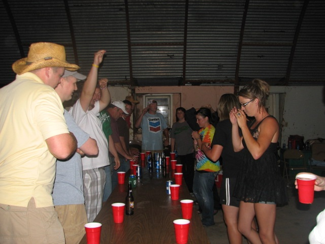 """Playin Tippy cup with my friends with """"red solo cups"""""""