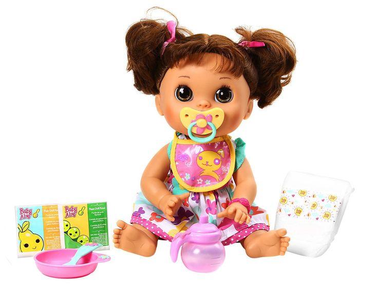 Baby Alive Toys : Boneca baby alive comer e brincar brooklyn s page