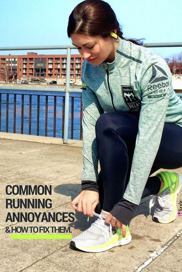 3 Common Running Annoyances and How to Fix Them!