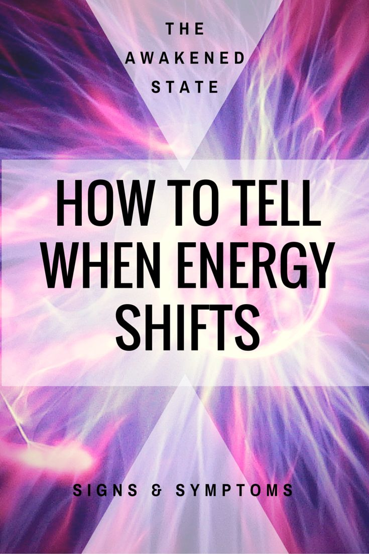 How to Tell When Energy Shifts. We're going over the signs and symptoms you can encounter in your life showing that energy is shifting! Click to read more