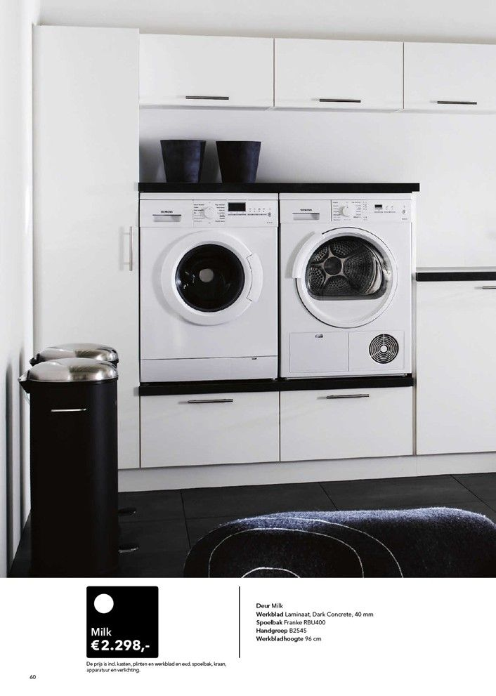 Lovely idea for laundry room. #Kvik: