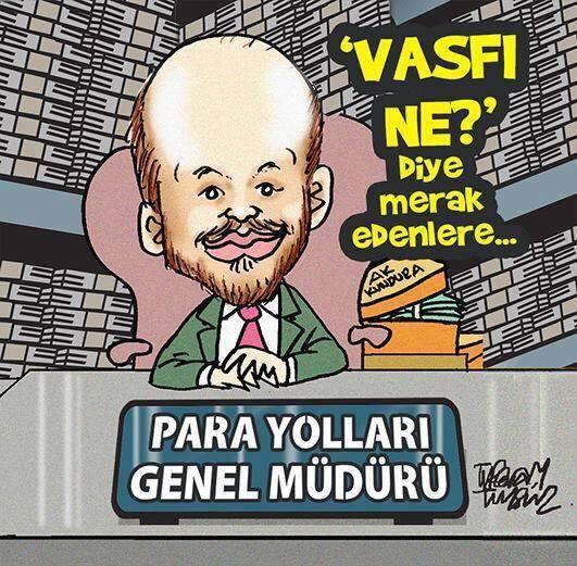 Para Yolları Genel Müdürü Bilal Erdoğan ...  !))