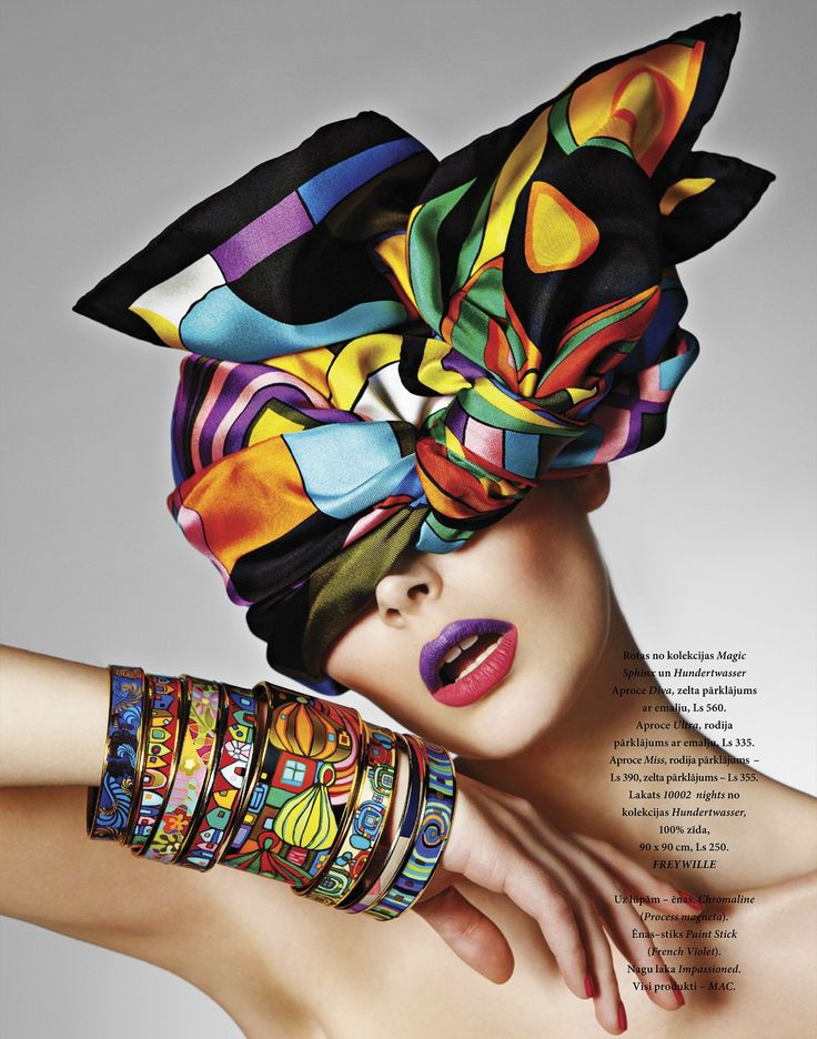 Nikole Luna by Oleg Zernov (In Living Color - L'Officiel Latvia June-July 2012)
