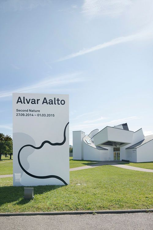 Alvar Aalto MUSEO Vitra design museum in Weil am rhein Germany until 01/03/2015
