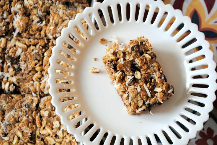 Dark Chocolate Almond Butter Lactation Bars