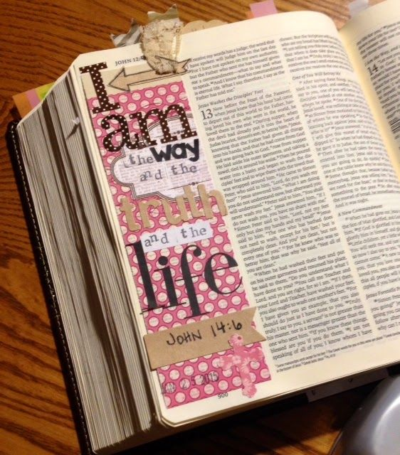 A Day in the life of a Country Mouse: Journaling Bible: John 14:6
