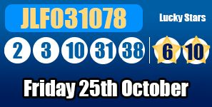 The Euromillions results for Friday 25th October 2013: http://euromillionshub.com/euromillions-results-25th-october/ #euromillions