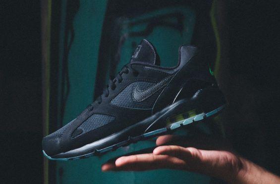Available Now: Nike Air Max 180 Black Volt | Nike air max