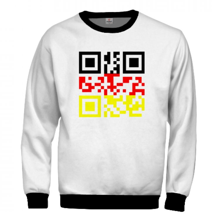 German Barcode Sweatshirt