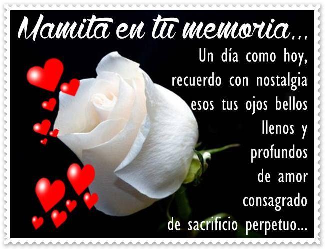 en la memoria de mi madre