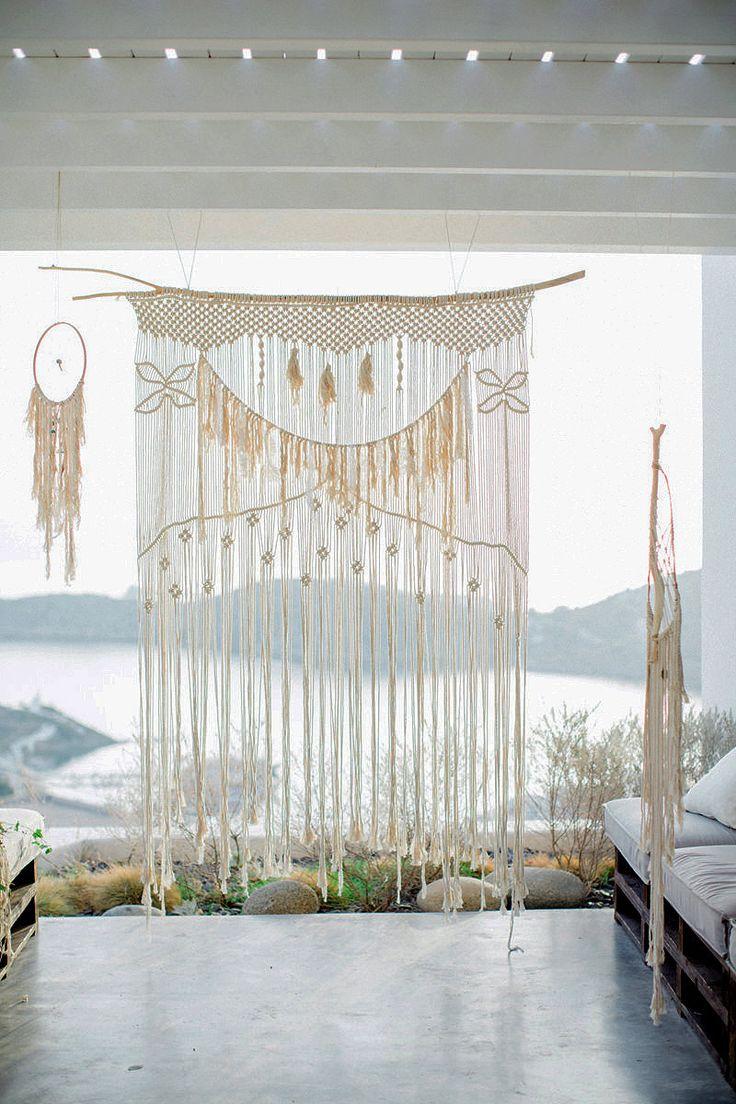 VENDITA Macrame tenda / parete appeso / matrimonio sfondo con