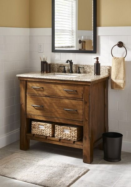 Get The Bath Design Youu0027ve Always Wanted. Affordable Upgrades Like This  Rich Mocha