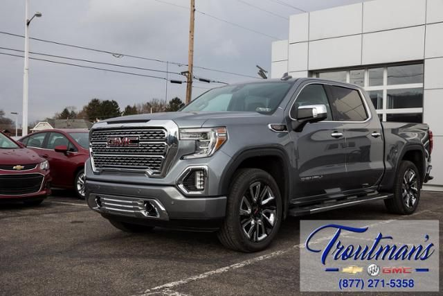Satin Steel Metallic 2019 Gmc Sierra 1500 Denali With Crew Cab And