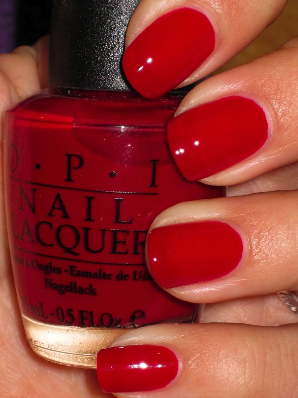 opi red ideas