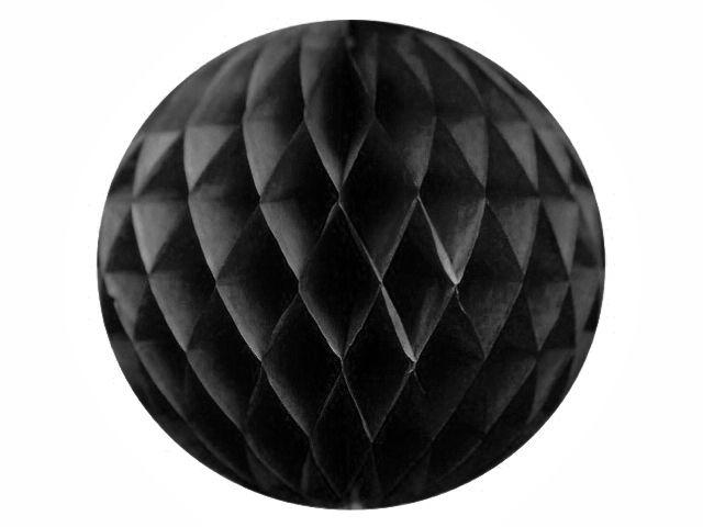 Honeycombs av silkepapir - svart