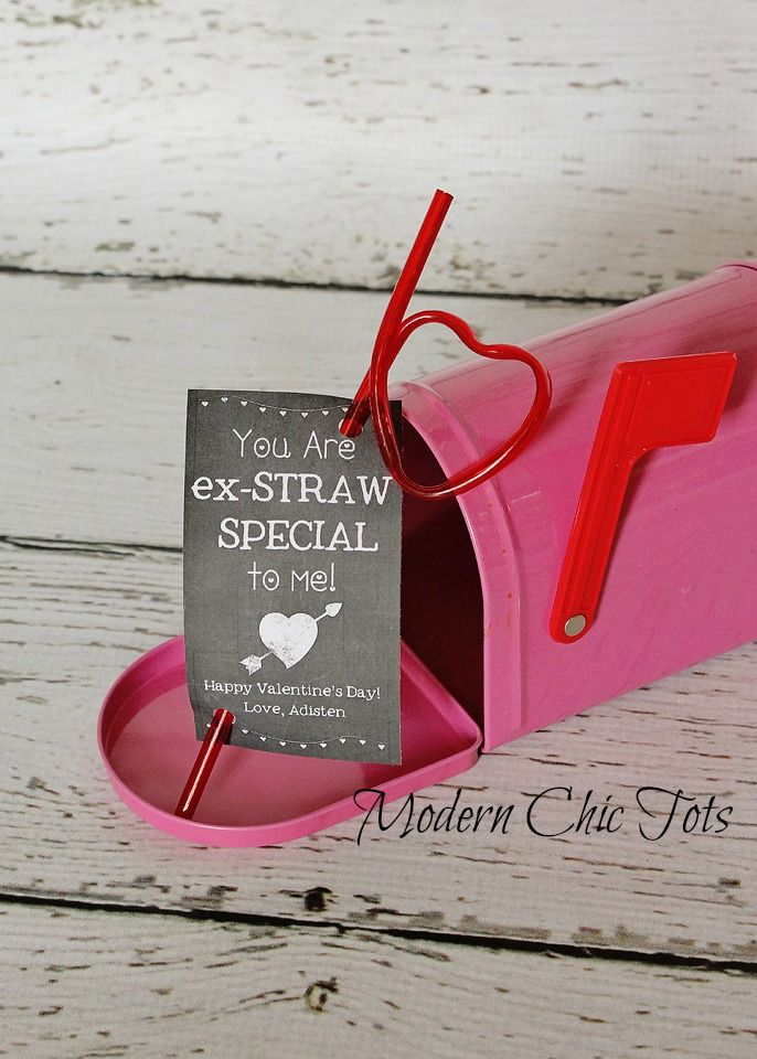 Cute Valentine Idea! (We recommend putting a bullet and some lube in the mailbox!)