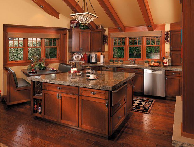 Cornerstone Kitchens In Cherry   Canyon Creek