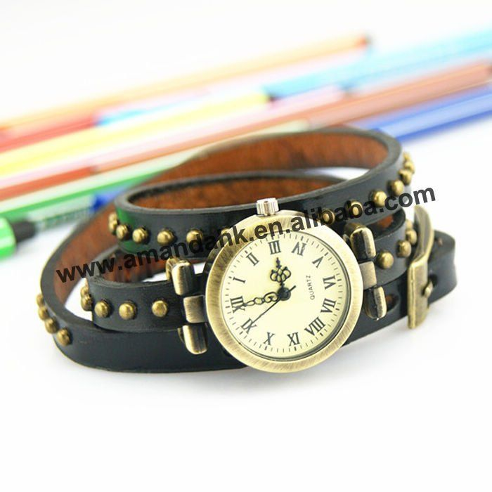 100 pcs/lot On Sale Vintage Woman Watches Roman Long Strap Wristwatch Popular Leather Watches Casual Dress Punk Wristwatches-in Women's Watches from Watches on Aliexpress.com | Alibaba Group